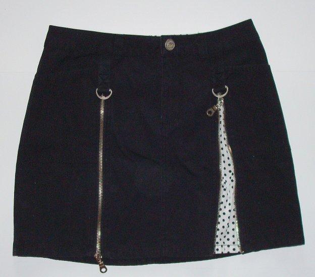 LIMITED TOO Short Black Fashion Skirt Girls 12