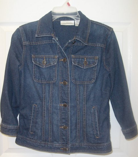 CHADWICKS Jean/Denim Jacket Womens Sz. 4
