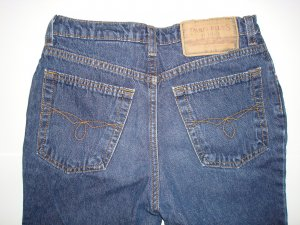 PARIS BLUES Cropped Jeans Girls Size 12
