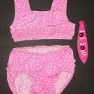405 SOUTH by ANITA G. Pink Polka Dot Swimsuit 24 Mos.