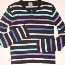 OLD NAVY Striped V-Neck Sweater Girls 12