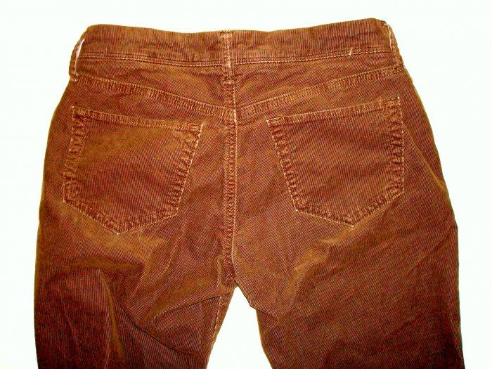 AEROPOSTALE Chocolate Brown Corduroy Jeans/Pants Jr. 2