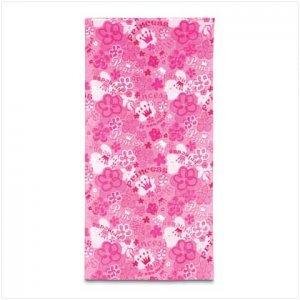 Pink Princess Beach Towel