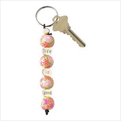 Life-Is-Good Keychain
