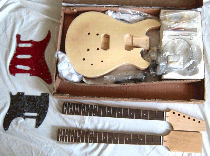 Beautiful Guitar Kit (similar to Paul Reed Smith Guitars)