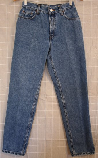 *Women Levi Red Tab Jeans 550 6 MIS M Relax Fit Tapered 27 x 29