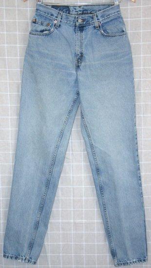 *Women Levi Red Tab Jeans 550 6 REG L Relax Fit Straight 27 x 32
