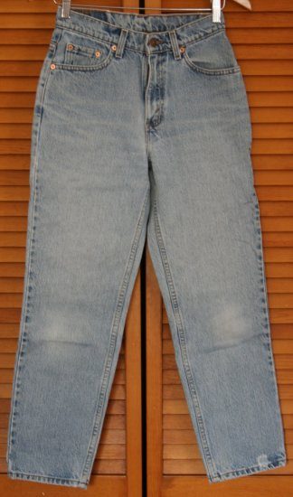 Vintage Womens Levi Red Tab Jeans 512 6 Petite M USA