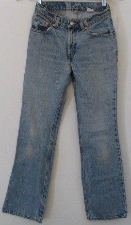 Women's Levi Vintage Denim Jeans 517 3 Jr M 27 x 32 USA