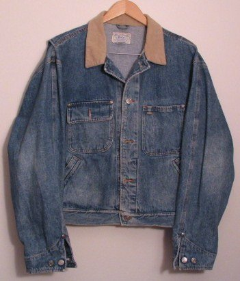 *Mens Polo RALPH LAUREN Unlined Denim Jean Jacket Large USA