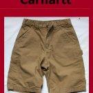 Men's Carhartt Style # B147: Canvas Work Short Size 30