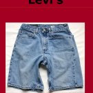 Men's Levi Strauss Red Tab 550 Relaxed Fit Jean Shorts Size 31