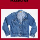 Men's Vintage Rustler Unlined Denim Jean Jacket Size Medium USA
