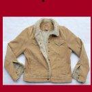 Girls's Aeropostale Tan Corduroy Insulated Jacket Size XL