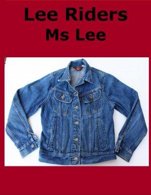 Vintage Women's Ms Lee  Unlined Denim Jean Jacket Size 5 USA