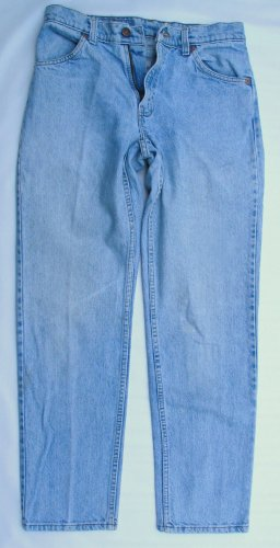 Vintage 80's Mens Levi 506 Orange Tab Zip Fly Original Jeans 29 x 30 USA