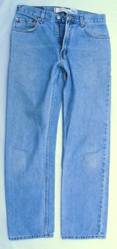 Hige Mens Levi 505 Red Tab Zip Fly Classic Fit  Jeans 29 x 30