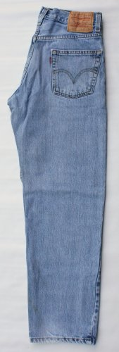 Mens Levi 550 Red Tab Zipper Fly Relaxed Fit  Jeans 30 x 30