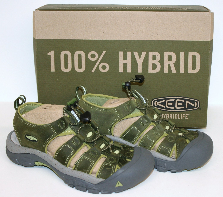 "KEEN Women's Newport Sandal Bronze Green/Nile 7.5 US ""New in Box"""