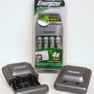 Energizer 15 Minute & Compact 2200 mAh NiMH Battery Chargers