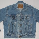 Youth's Levi Trucker Unlined Denim Jean Jacket Size Medium 12/14 USA