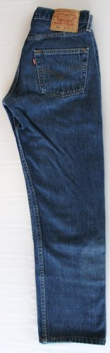 Men's Vintage Levi 501XX Red Tab Button Fly  Jeans 27x 29 USA