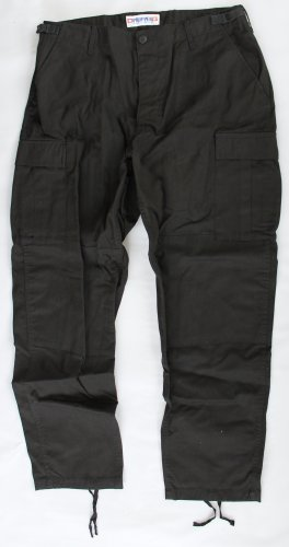 Propper BDU Trouser - Button Fly Battle Rip 65/35 Poly/Cotton NWOT Large Regular