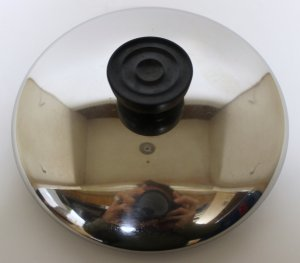 "5 3/4"" Revere Ware Stainless Steel Lid #2"
