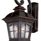 Trans Globe Antique Rust Outdoor Wall Lantern 5420AR