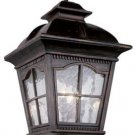 Trans Globe Antique Rust Outdoor Hanging Lantern 5421AR