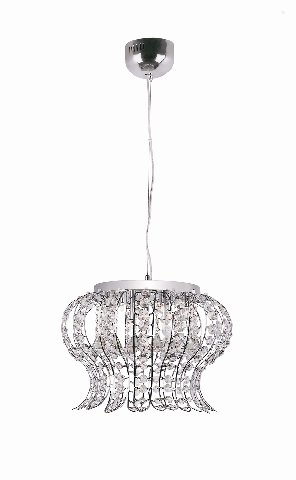 Trans Globe All Crystal Adjustable Pendant MDN-923