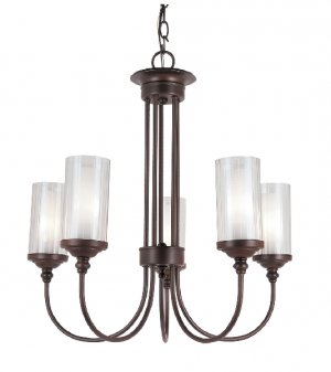 Trans Globe Transitional Oil Rubbed Bronze Chandelier 3925ROB