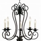 Trans Globe Garland II Oil Rubbed Bronze Chandelier 21055-1