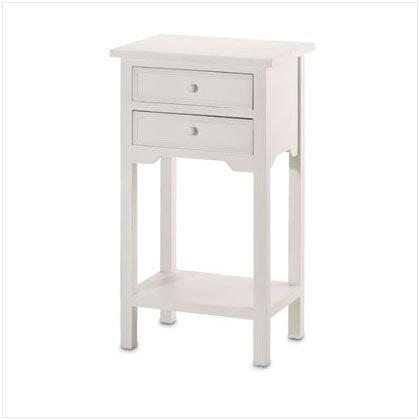 White Side Table - E