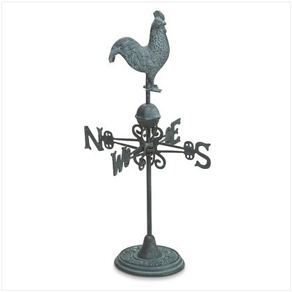 Rustic Rooster Weathervane - D
