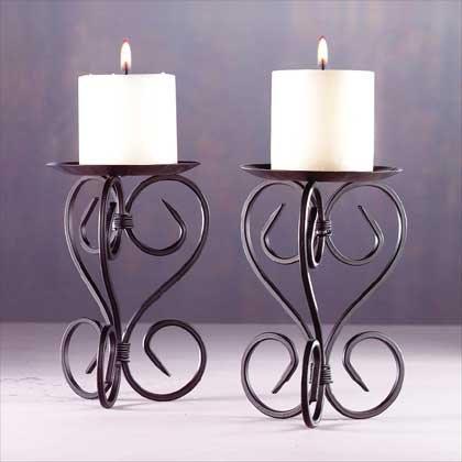 Spanish Mission Style Candleholders