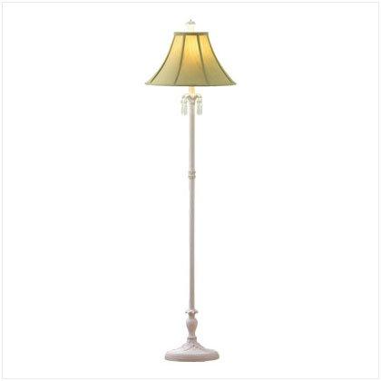 Classic White Floor Lamp - E