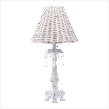 White Column Lamp