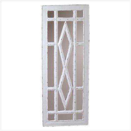 Rustic Windowpane Mirror - D