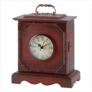 Traditional Clock & Key Cabinet - D