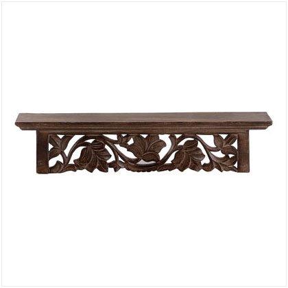 Carved Wall Shelf - D