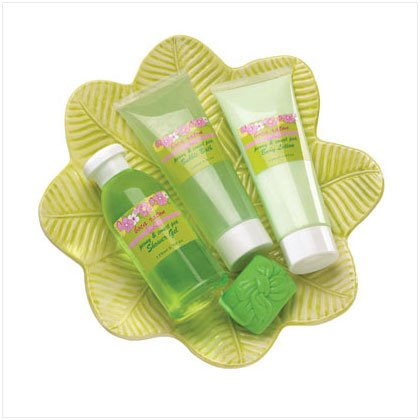 Sweet Pea and Peony Pampering Set