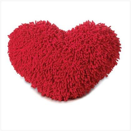 Shaggy Heart Pillow