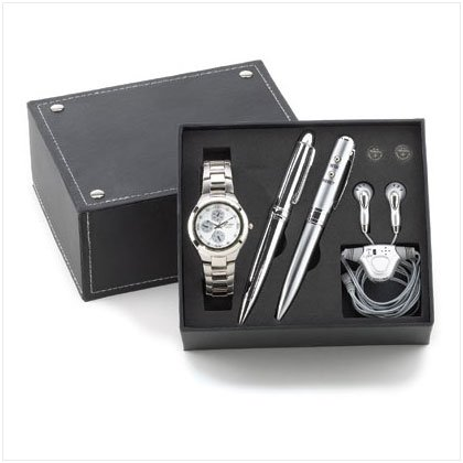 Man's Gift Box with Pen Radio - D