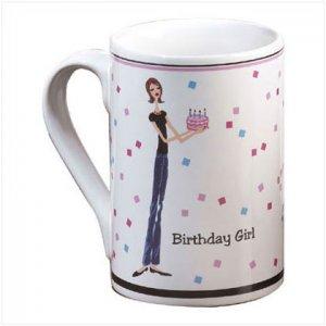 Birthday Girl Mug - D