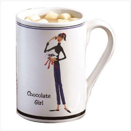 Chocolate Girl Mug - D