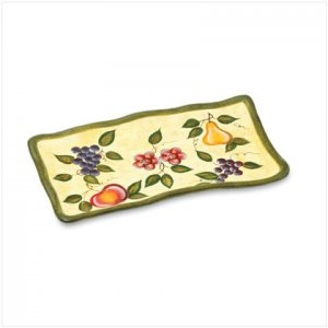 Garden Fruit Design Platter - D