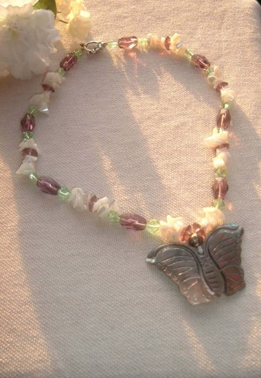 SALE Shell butterfly