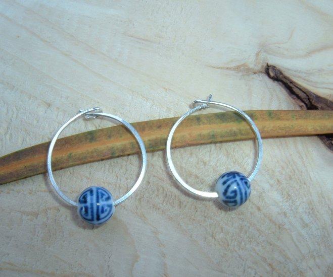 Shou Long Life earrings