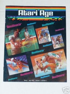 Atari Age Volume 1 Number 6 - March 1983 - April 1983